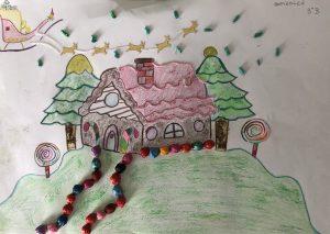 Postales navideñas con la creatividad de los más pequeños 1