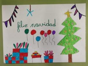 Postales navideñas con la creatividad de los más pequeños 2