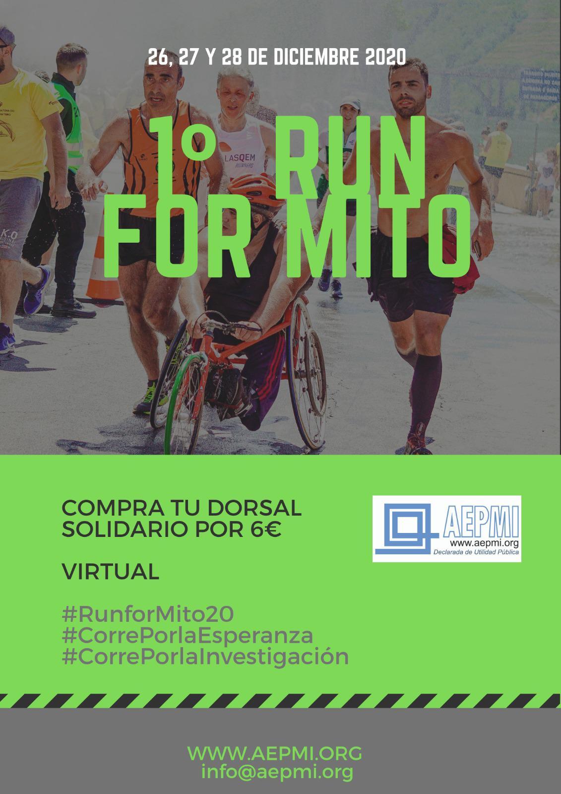 'Run for Mito': a la carrera contra las enfermedades mitocondriales 1