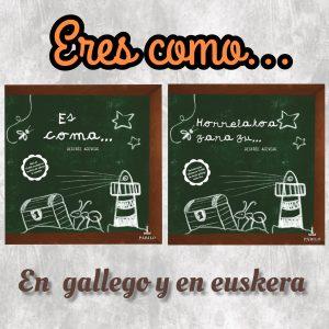 Los docentes gallegos y vascos podrán disfrutar de 'Eres como...' en su lengua 1