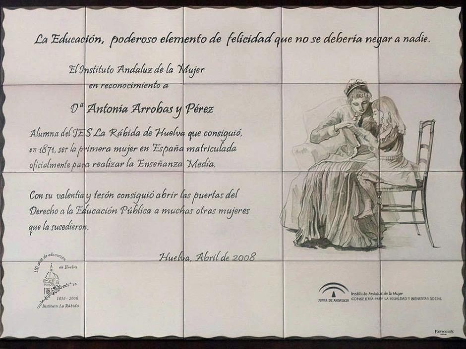 Antonia Arrobas, la primera mujer en España que estudió Secundaria 1